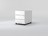 Mobilier EHPAD - Caisson mobile 1 tiroir plat + 1 tiroir DS-BUREAU-CAISSON-CAISSON-3-Tiroirs_1_20130128144119.jpg
