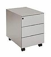 Mobilier EHPAD - Caisson avec roulettes 3 tiroirs-Caisson-mobile-3-tiroirs-sur-roulettes-en-metal_1.JPG