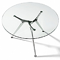 Mobilier EHPAD - Table de réunion diam 130 structure alu-table_ARKITEK.jpg