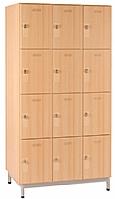 Mobilier EHPAD - Meuble 12 Cases avec portes boite aux lettres/clé-Armoire-15-casiers-avec-serrures-sur-pieds-metal_1.jpg