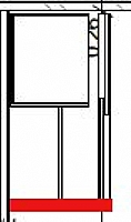 Mobilier EHPAD - Placard portes coulissantes larg 120-placard-brossolette.JPG