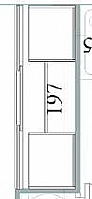 Mobilier EHPAD - Placard portes coulissantes larg 197-MEUBLE-MH-Placard-portes-coulissantes-larg-197_1_20150513185417.JPG