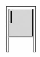 Mobilier EHPAD - CHEVET FRIGO-CHAMBRE-CHEVET-CHEVET-FRIGO_1_20160428195452.JPG