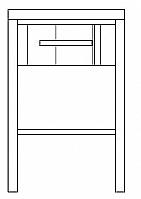 Mobilier EHPAD - CHEVET 1 niche 1 tiroir-CHAMBRE-CHEVET-CHEVET-1-niche-1-tiroir_1_20160405144639.jpg