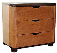 Mobilier EHPAD - Commode ONYX 3 tiroirs laqué-Commode-ONYX-3-tiroirs.jpg