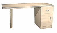 Mobilier EHPAD - Chevet bureau dr. HORIZON 1 porte 1 tiroir(PA ind)-Commode-bureau-1-porte_1-tiroir_pied.jpg