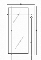 Mobilier EHPAD - MIROIR avec PATERE-CHAMBRE-DIVERS-MIROIR-avec-PATERE_1_20150721110956.jpg
