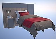 Mobilier EHPAD - Tête de lit avec incrustation tissu-TDL_clinipsy.jpg