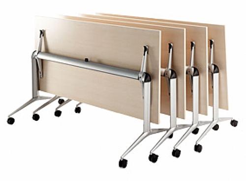 table de r union pliante et encastrable 140x80 bureau table de r union ref z8704. Black Bedroom Furniture Sets. Home Design Ideas