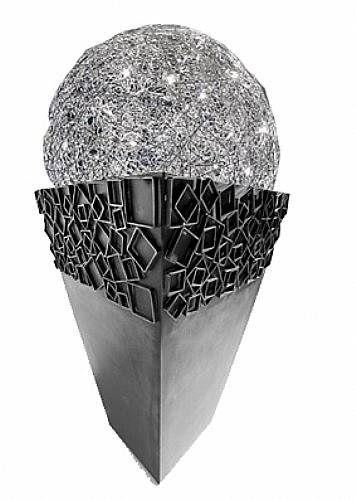 lampe fil de fer sur pot d coration maison de retraite accessoires ref z9061 mobiliers. Black Bedroom Furniture Sets. Home Design Ideas