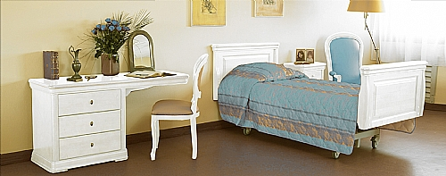 Mobilier EHPAD - mobilier de chambre / chambre / collection - Collection VERONA laquée