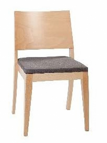 Mobilier EHPAD - assise / chaise et bridge - Chaise assise bois