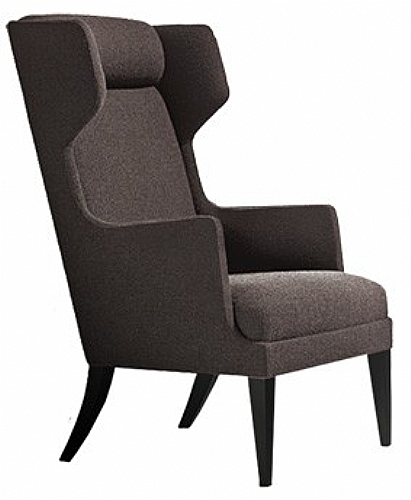 fauteuil logan bois haut dossier a2c droit assise fauteuil canap pouf cabrio ref logan. Black Bedroom Furniture Sets. Home Design Ideas