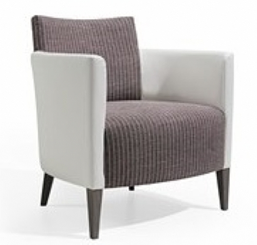 Mobilier EHPAD - assise / fauteuil, canapé, pouf, cabrio - Fauteuil PETRA accoudoirs tissu