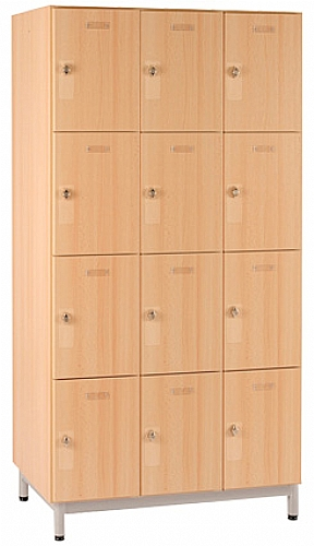 meuble 12 cases avec portes boite aux lettres cl meuble d 39 appoint meuble haut vaisselier. Black Bedroom Furniture Sets. Home Design Ideas