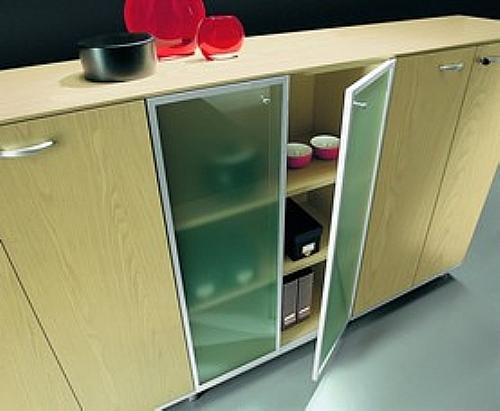 Meuble rangement bas largeur bureau armoire de rangement