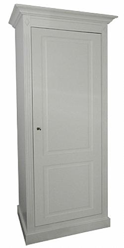 bonneti re directoire 1 porte largeur 65 mobilier de chambre armoire ref dir bon65. Black Bedroom Furniture Sets. Home Design Ideas