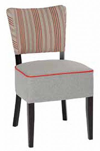 Chaise ava grande largeur bois assise chaise et for Largeur chaise