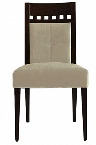 Mobilier EHPAD - assise / chaise et bridge - Chaise OLGA-bois
