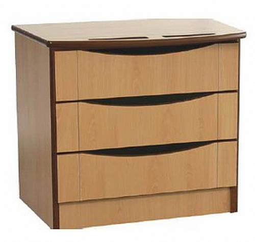 Mobilier EHPAD - mobilier de chambre / commode - Commode LUNA 3 tiroirs