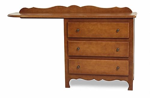 commode bureau droite elisa 3 tiroirs mobilier de chambre commode bureau ref eli cb3 d. Black Bedroom Furniture Sets. Home Design Ideas