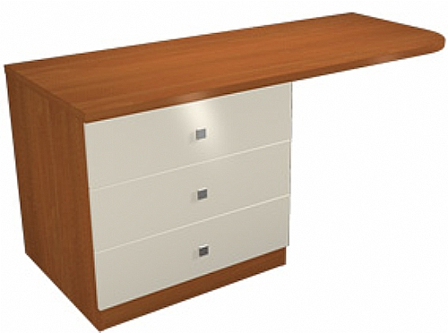 Mobilier EHPAD - mobilier de chambre / commode bureau - Commode bureau creation