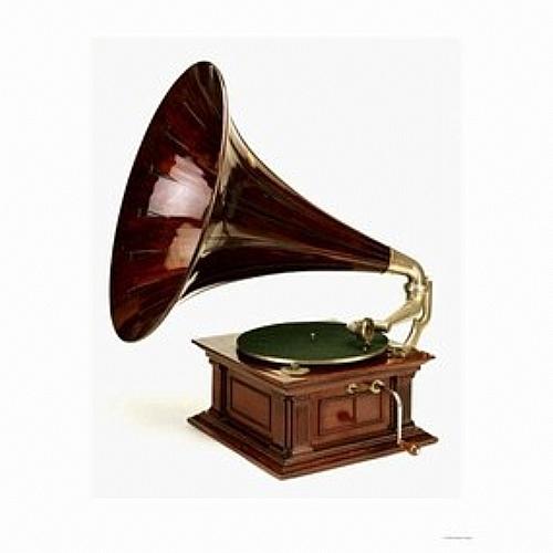 Gramophone ancien bois d coration maison de retraite accessoires ref gram deco mobiliers - Decoration automne maison de retraite ...