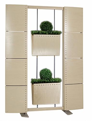 Claustra avec jardini res simples meuble d 39 appoint - Jardiniere avec claustra ...