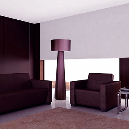 lampadaire saralu tissu d coration maison de retraite luminaire ref l saralu mobiliers. Black Bedroom Furniture Sets. Home Design Ideas