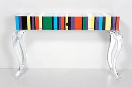 console rayures meuble d 39 appoint console et dos canap ref z8026 mobiliers ephad et. Black Bedroom Furniture Sets. Home Design Ideas