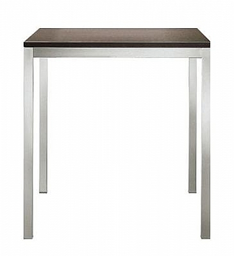 Table 90x90 gysophile pietement 4 pied carr table for Table 90x90 design