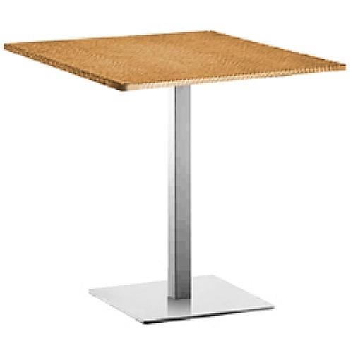 Inox is pr 60x80 70x80 80x80 hauteur 50 table pied for Pied de table design inox