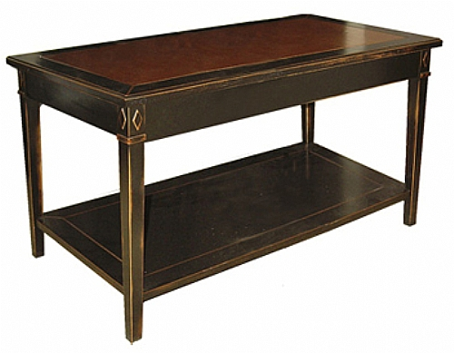 table basse rectangulaire camelia bois plat verre table table basse ref cam 12x6 v. Black Bedroom Furniture Sets. Home Design Ideas
