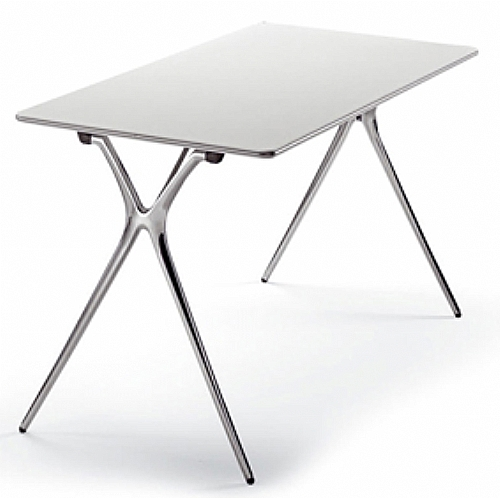 Table de r union pliante et empilable 140x60 bureau table de r union ref tableplek146 for Pietement de table pliante