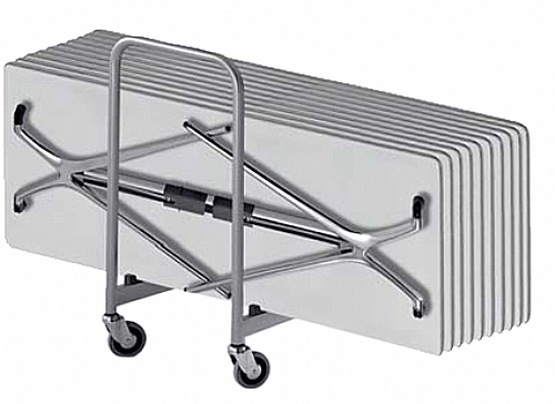 table de r union pliante et empilable 140x60 bureau. Black Bedroom Furniture Sets. Home Design Ideas
