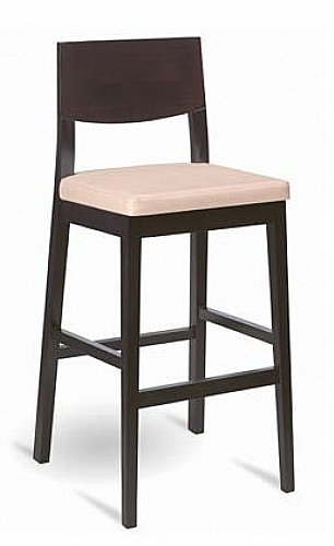 Mobilier EHPAD - assise / tabouret - Chaise haute AURORE-bois
