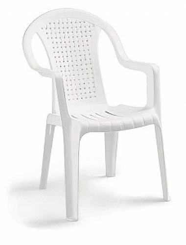 Mobilier EHPAD - assise / chaise et bridge - Chaise plastique