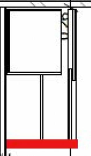 Placard portes coulissantes larg 120 meuble d 39 appoint meuble haut va - Meuble haut porte coulissante ...