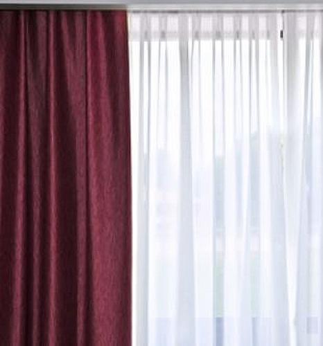 voilage avec tringle rideau rideau ref z8563 mobiliers ephad et maison de retraite. Black Bedroom Furniture Sets. Home Design Ideas