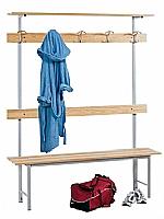 meuble d 39 appoint vestiaire banc porte manteau mobilier et meubles pour maison de retraite. Black Bedroom Furniture Sets. Home Design Ideas