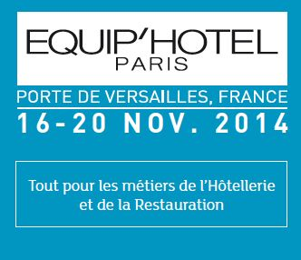 Salon EQUIPHOTEL du HAll 3 stand H122